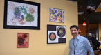The Language of Art on Display: Artwork by Seven Autistic Students Exhibited